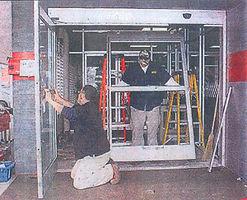 Instalação porta
