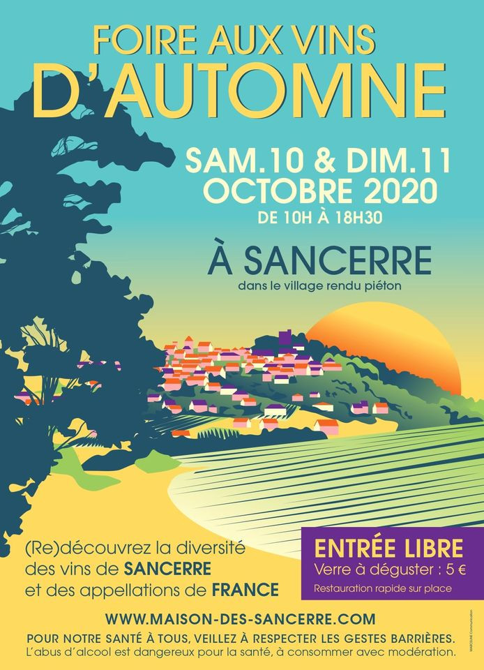 Poster-of-Automne-Wine-Fair-2020-in-Sancerre