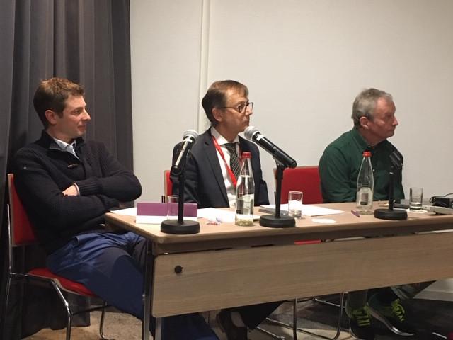 Benjamin delobel, Arnaud Imele et David Cobbold au CMS 2020