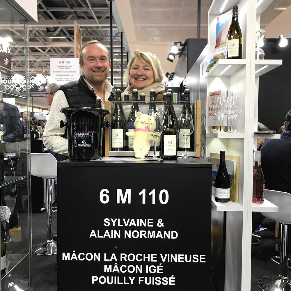 Sylvaine et Alain Normand, vignerons en Pouilly-Fuisse