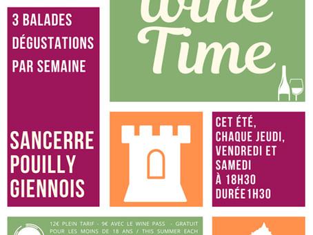 Un bel été pour la destination Sancerre-Pouilly-Giennois