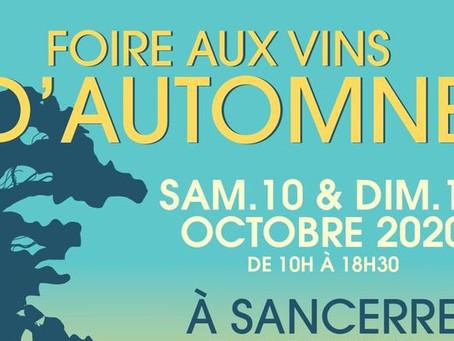 Foire aux vins et crowfunding d'automne à Sancerre