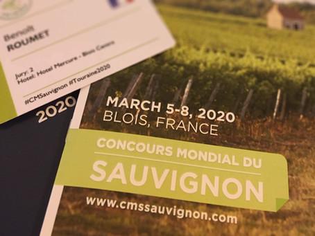 Le Concours Mondial du Sauvignon 2020 en Touraine