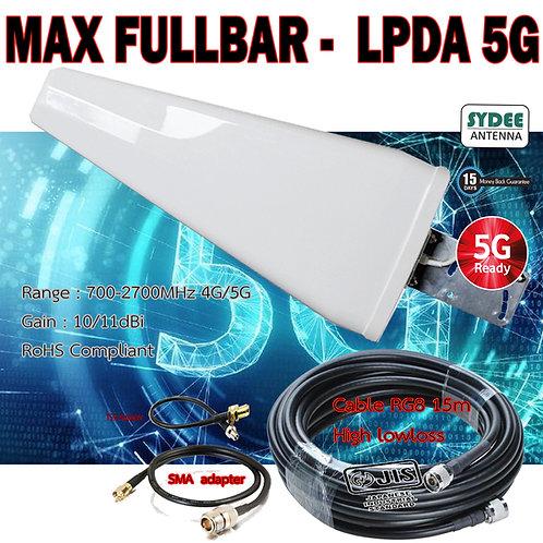 MAX ANTENNA LPDA 5G 4G  3G -700-2700MHZ
