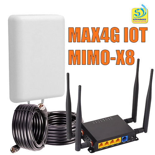 MAX4G IOT ROUTER-MIMO-X8 SET