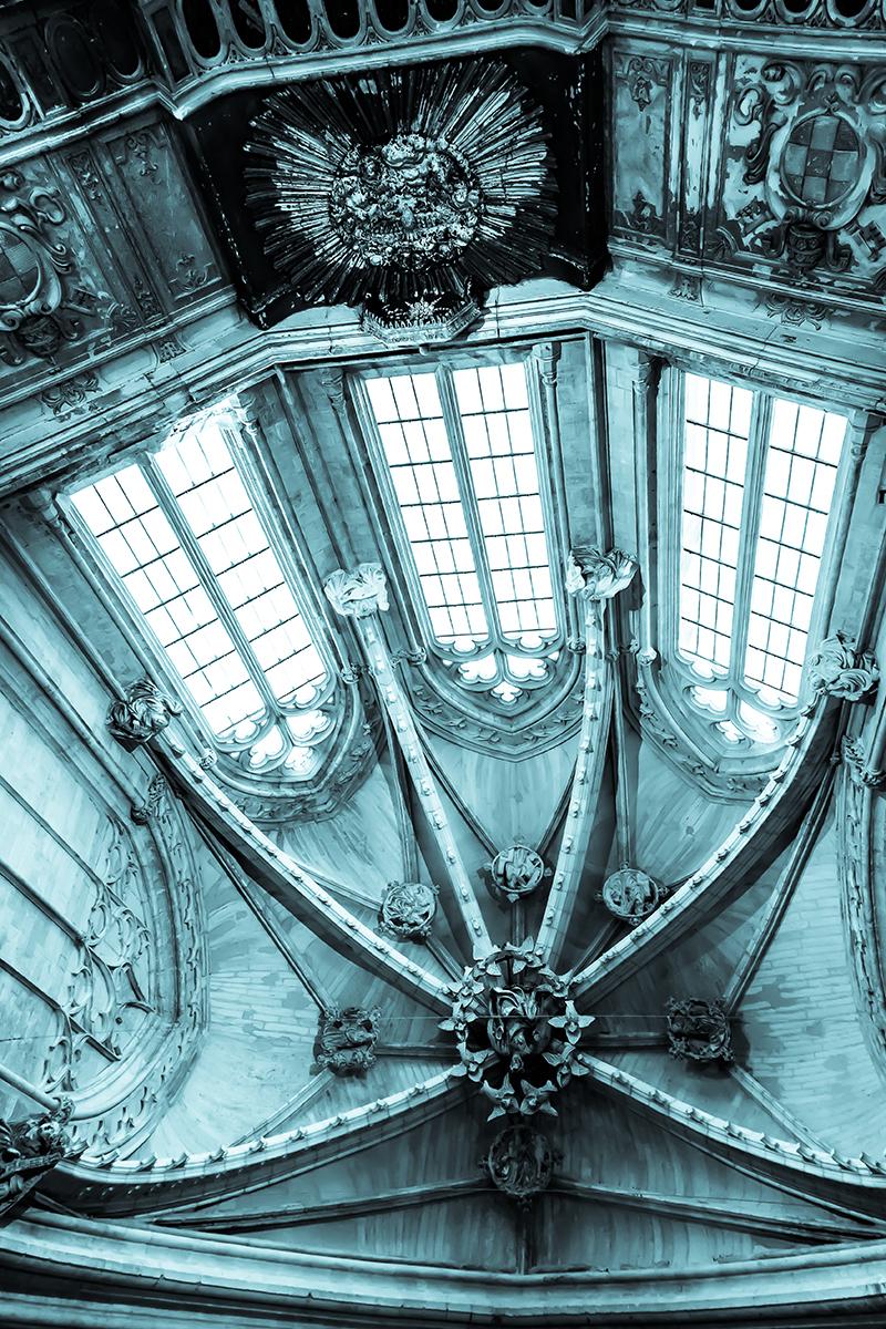 Plafond Eglise des Céléstins,Avignon