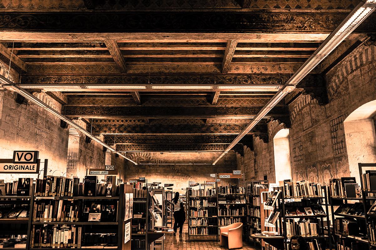 Bibliothèque Ceccano Avignon