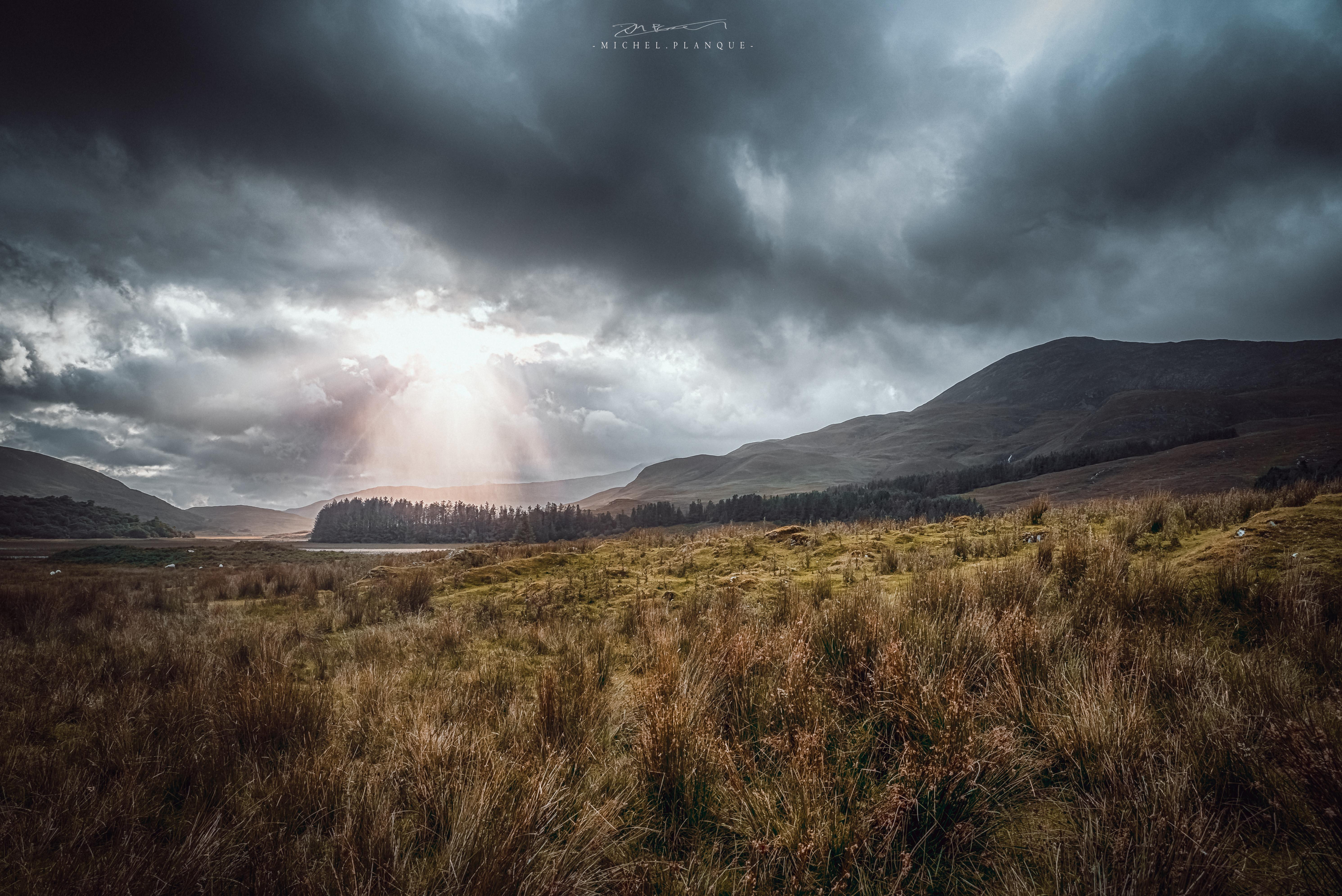 Cloud on isle of Skye