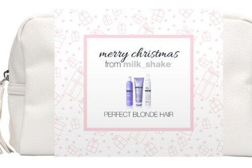 milk_shake Silver Shine Blonde Perfect Blonde Hair Christmas Gift Set  The milk_