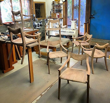 Shaping Room at Sam Maloof