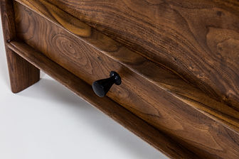 Details of Blanket/Hope Chest in Walnut