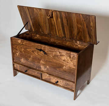 Blanket/Hope Chest in Walnut