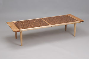 Maple Cork Coffee Table