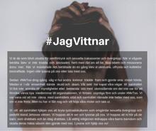#JagVittnar, ett MeToo- upprop för ex Jehovas Vittne