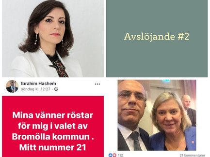 Avslöjande #2  Socialdemokrat från Bromölla sprider desinformation bland arabisktalande