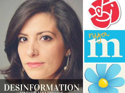 Desinformation som Socialdemokrater spred bland arabisktalande.