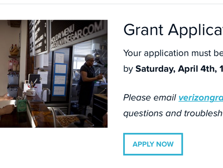 Saturday Deadline: Applications Open For Grants Up To $10,000 - Verizon/LISC COVID-19 Recovery Fund