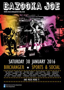 Poster - Birchanger S&S 300116