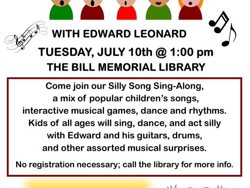 Silly Sing Along with Ed Leonard