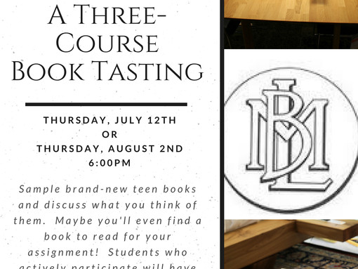 Book Tasting for Fitch High School Students