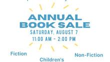 Annual Book Sale!