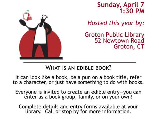 The Thirteenth Annual Edible Books Festival