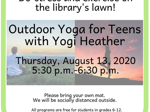 Outdoor Yoga for Teens