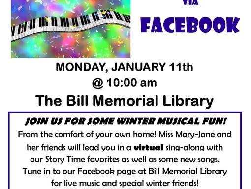 Winter Musical Sing-Along