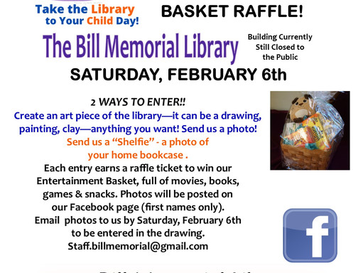 Take the Library to Your Child & Enter a Raffle!