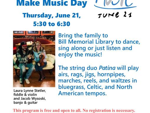Make Music Day!