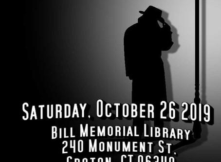 Haunted Library: Murder Mystery Noir