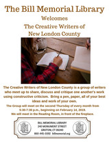 Join the Creative Writers of New London County