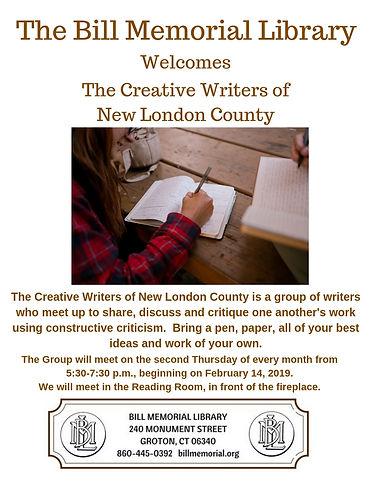 Creative Writers of New London County.jp