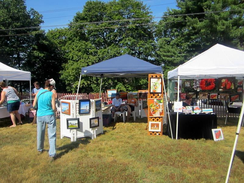 Art on Groton Bank Art Festival