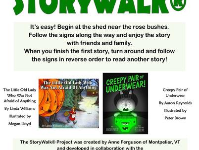 (Slightly) Spooky Storywalk(R)!