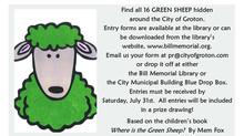 Where is the Green Sheep? (all 16?!?!)