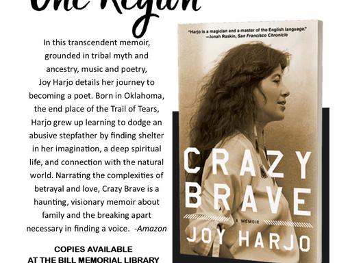 One Book, One Region announced!