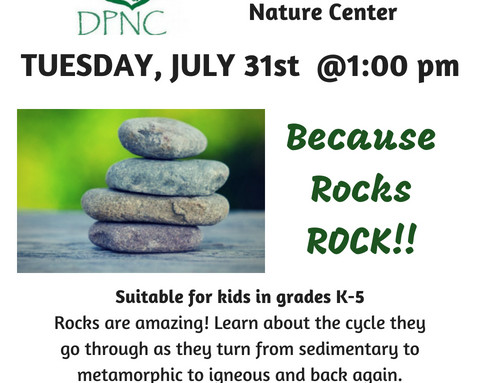 Rock Cycle Ruckus with DPNC