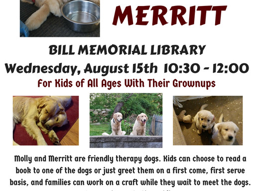 Meet & Read To Molly & Merritt