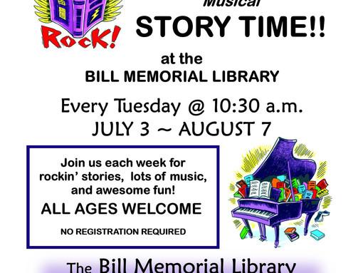 Summertime Musical Storytime