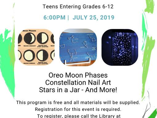 Interstellar Crafts for Teens