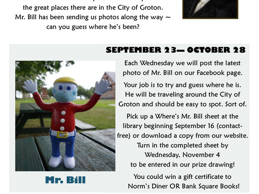 Where is Mr. Bill?