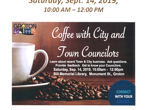 Common Ground Community Cafe:  Coffee with City and Town Councilors