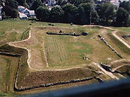Aerial view of Fort Griswold