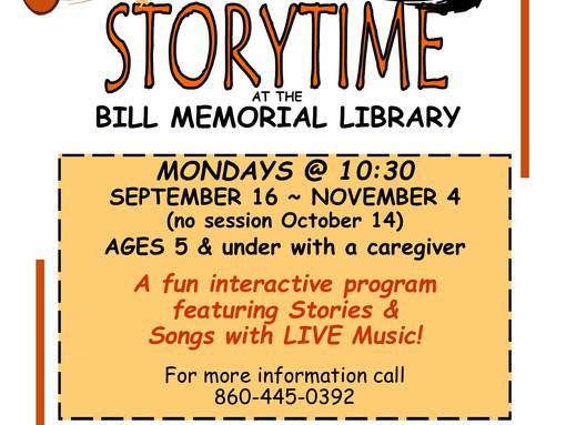 Fabulous Fall Storytime!