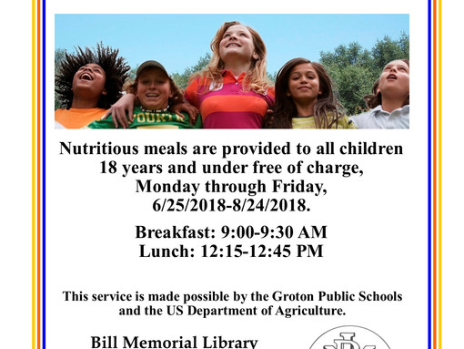 Summer Meals @ The Bill Memorial Library