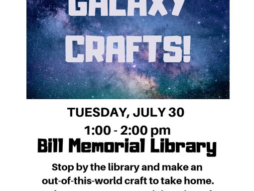 Galaxy Crafts @ the Library