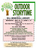 Outdoor Spring Storytimes