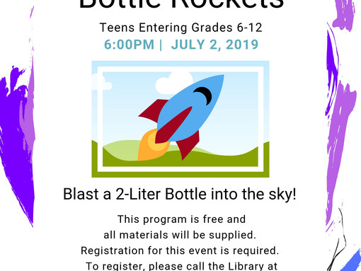 Bottle Rockets for Teens