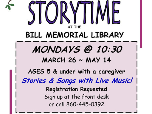 Spring Into Storytime!